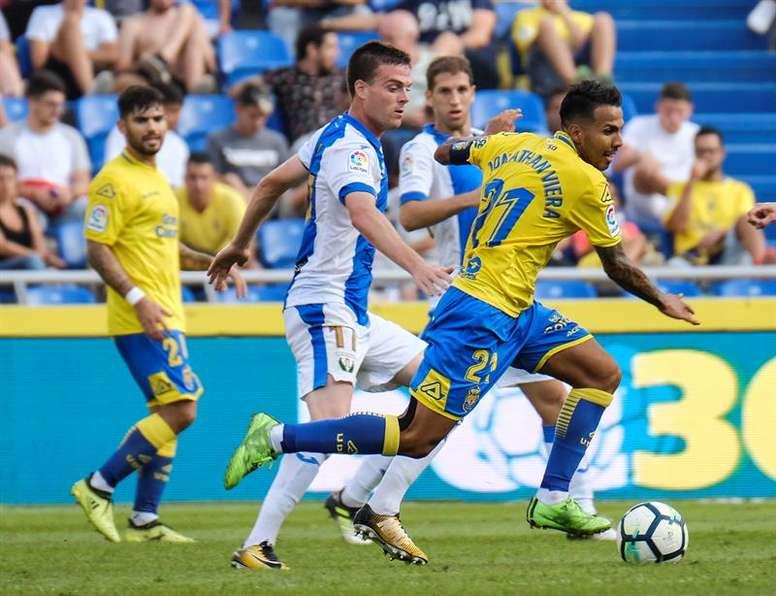 Jonathan Viera está a poco de volver a Las Palmas. EFE/Archivo