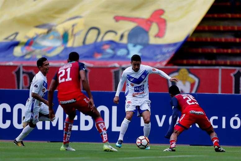 Nacional venció a San José Oruro por 3-2. EFE