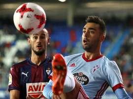 Eibar e Celta de Vigo ficaram com mesmos pontos. EFE