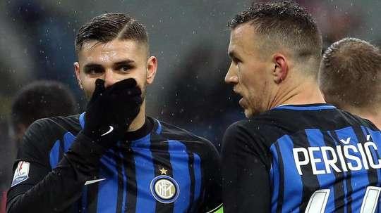 L'Inter espère gagner 110 millions d'euros avec Icardi et Perisic. EFE