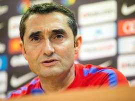 Valverde criticou atuação do árbitro. EFE