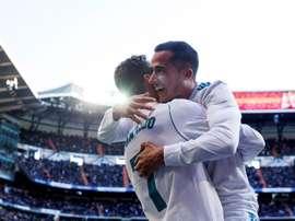 Lucas Vázquez comentou situação do Real Madrid. EFE