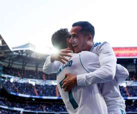 Cristiano, Messi, Paris... Lucas Vazquez opens up. EFE