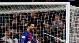 El Girona fue goleado la pasada campaña en el Camp Nou. EFE