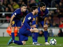 Xerez, Murcie et Cadix, trois clubs qui ont résisté à Messi. AFP