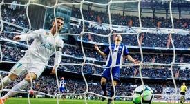 El Madrid goleó al Alavés y mostró su mejor versión. EFE