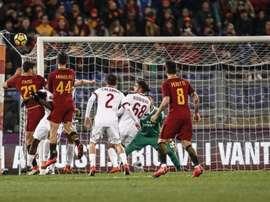 O Milan bateu a Roma por 0-2. EFE