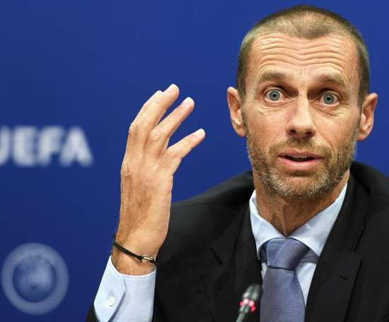 UEFA President Ceferin has added financial backing to his support for Women's football. EFE
