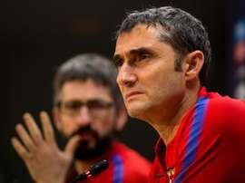 Valverde chamou 18 elementos. EFE