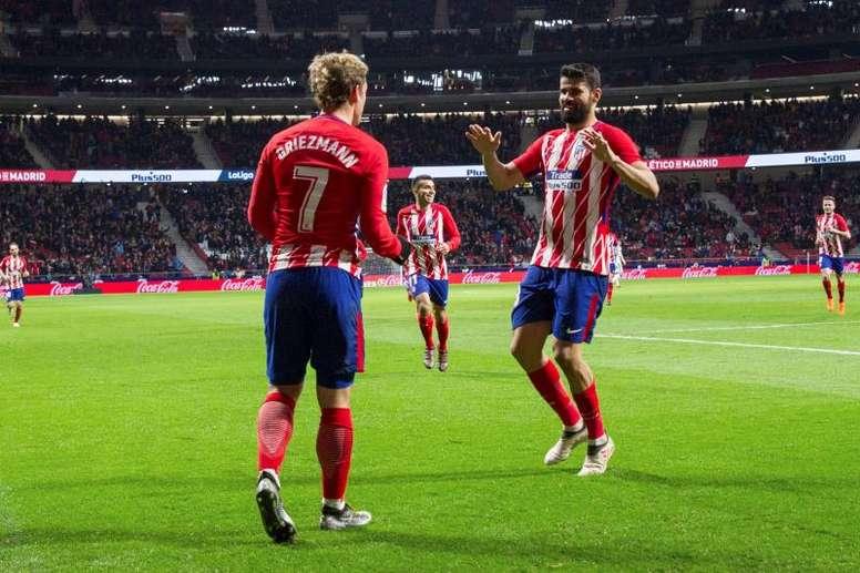 100 goals for Atletico. EFE