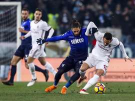 L'Olimpico de Roma vibrera pour Lazio-Milan. AFP