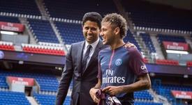 En Barcelona se entendió como una traición la salida de Neymar. EFE