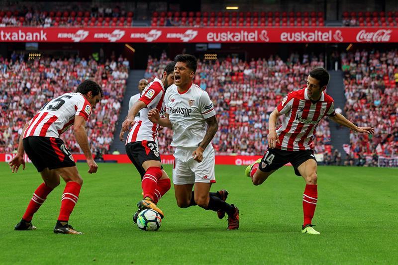 Sevilla vs Athletic Club de Bilbao, LaLiga Santander — Fútbol en vivo