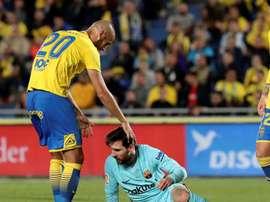 Barcelona empata frente ao Las Palmas