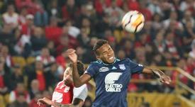 Ayrton Preciado ya es jugador de Santos LAguna. EFE