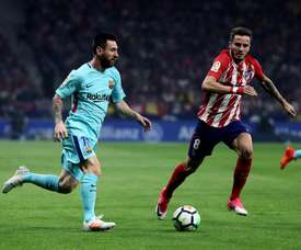 L'amour impossible du Barça avec Saul. EFE