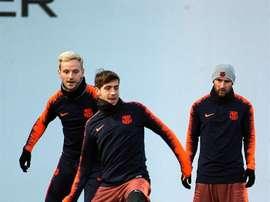 Messi, Rakitic e Sergi Roberto restano a casa. EFE