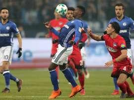 Schalke 04 se déplace en dauphin. EFE