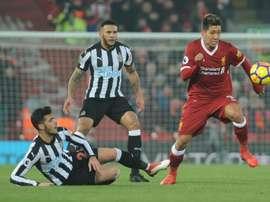 Merino spent just one season at Newcastle. EFE