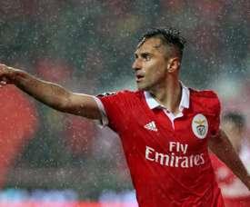 O Benfica bateu o Marítimo por 5-0. AFP