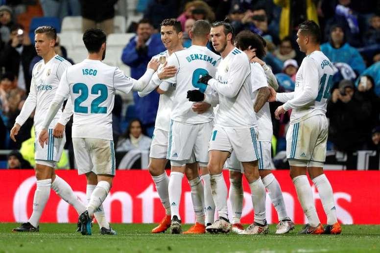 El Madrid de Zidane sólo ha perdido dos partidos de eliminatoria en la Champions. EFE