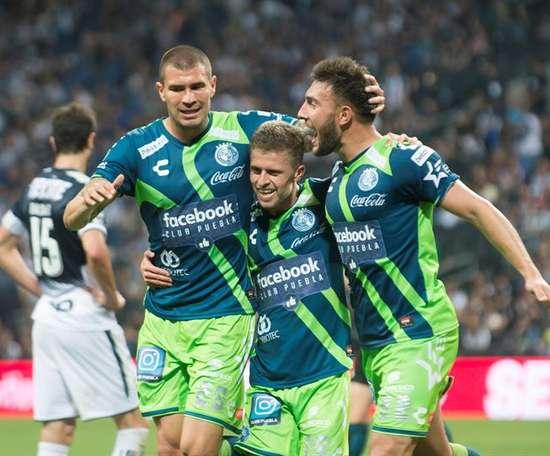 Puebla se llevó el partido por un claro 1-3. EFE