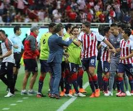 Chivas logró remontar. EFE
