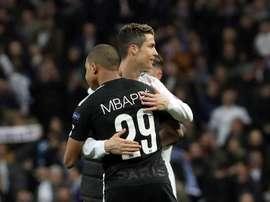 Ronaldo évoque Mbappé. EFE