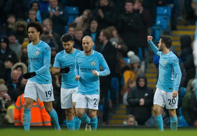 Premier League: grâce à David Silva, Manchester City s'impose à Stoke