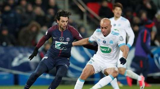 El tunecino apenas jugó con el Olympique de Marsella en el pasado curso. EFE