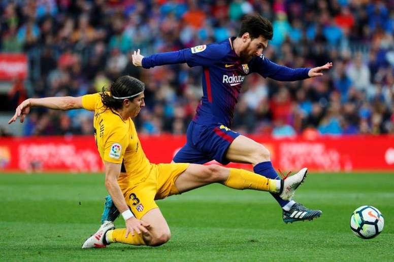 En el Barça ya se plantean otras opciones. EFE