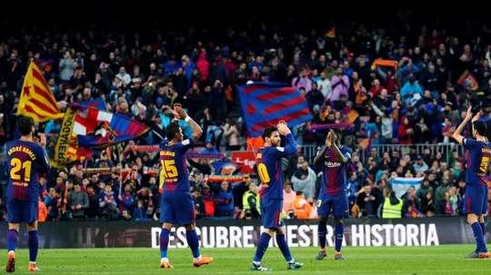 El Barça ha puesto en su punto de mira a un joven guardameta. EFE