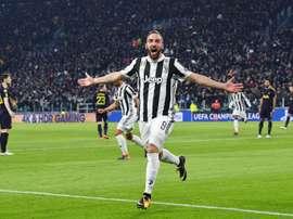 A Juve bateu o Inter por 2-3. EFE