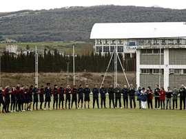 Osasuna volvió al trabajo con tres ausencias destacadas. EFE