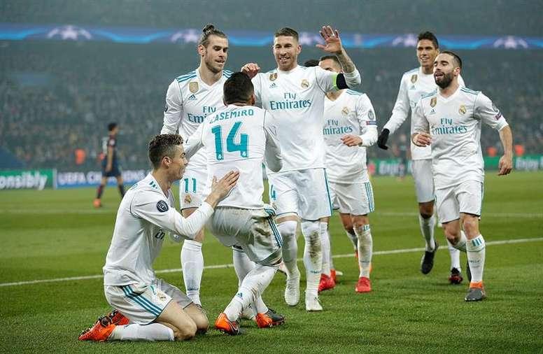 El Real Madrid ya conoce a su rival de Champions. EFE/Archivo