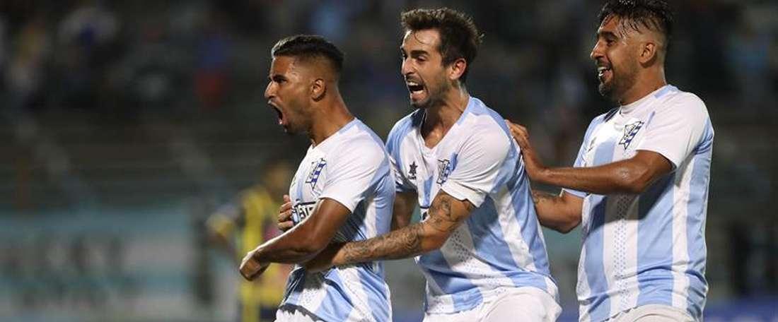 Cerro venció a Rampla por 2-0. EFE