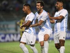 El conjunto uruguayo consiguió el pase. EFE