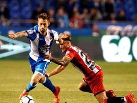 El Deportivo se ejercitó con normalidad. EFE/Archivo