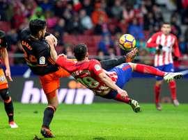 Valence reçoit l'Atlético Madrid. EFE