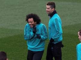 Le latéral a passé l'actualité du Real Madrid en revue. EFE
