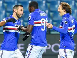 Sampdoria will not play. EFE