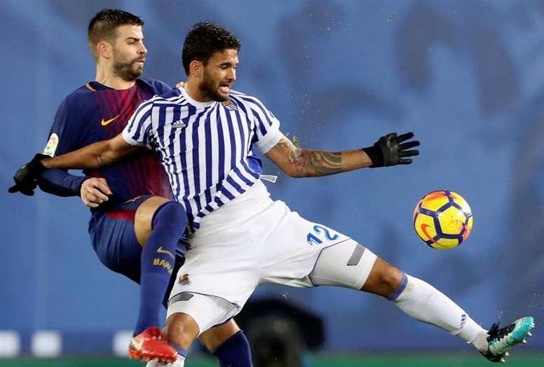 Real Sociedad exige 70 milhões por William José. EFE/Arquivo