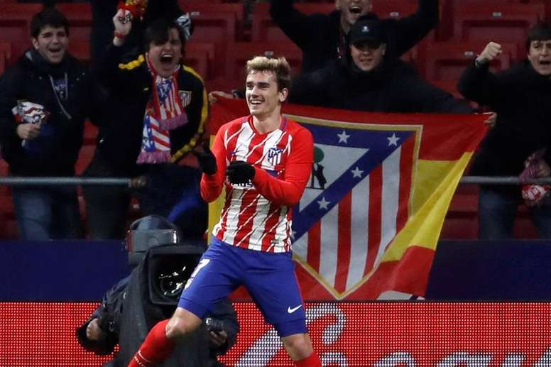 Griezmann could be on his way out of Atletico. EFE