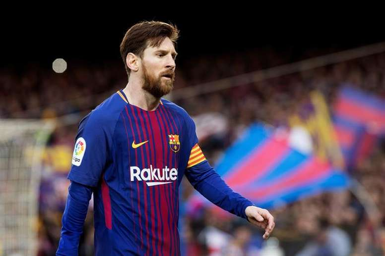 Messi's record goal. EFE