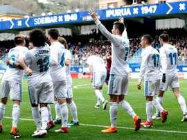 Madrid n'a fait que gagner. EFE