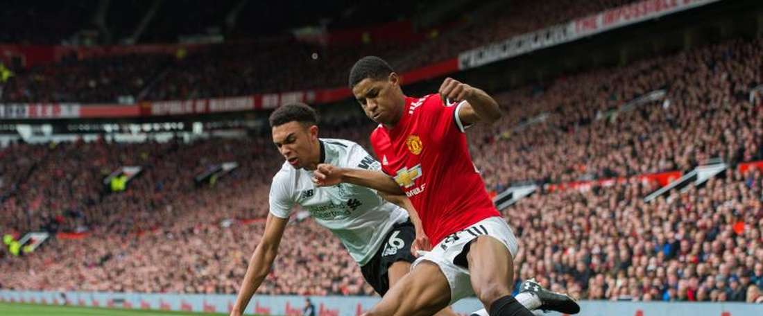 Alexander-Arnold has faced tough opponents this year, but none on the level of Ronaldo. EFE