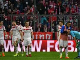 Hamburg's hopes of staying in the Bundesliga are dwindling. EFE