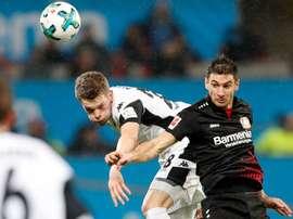 La Ligue des champions pourrait éloigner Lucas Alario du Betis. Bayer04Leverkusen