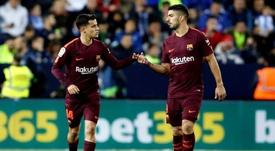 Coutinho jugará si así lo decide Valverde. EFE