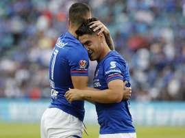 Cruz Azul consiguió una balsámica victoria. EFE